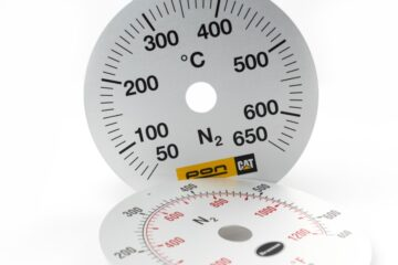 Metal scale plate