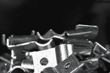 Sheet metal punching
