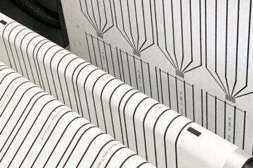 Printed stretchable sensors
